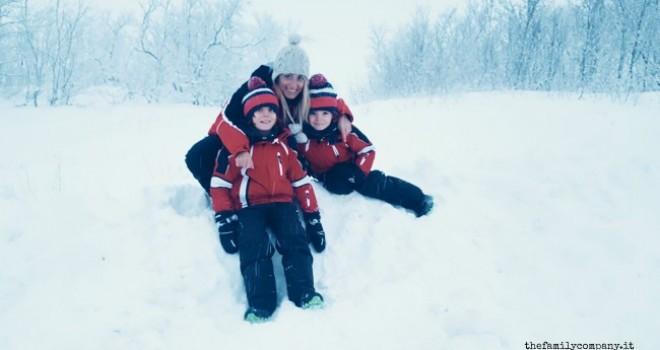 Tra aurore boreali ed igloo: Lapponia con bambini in inverno