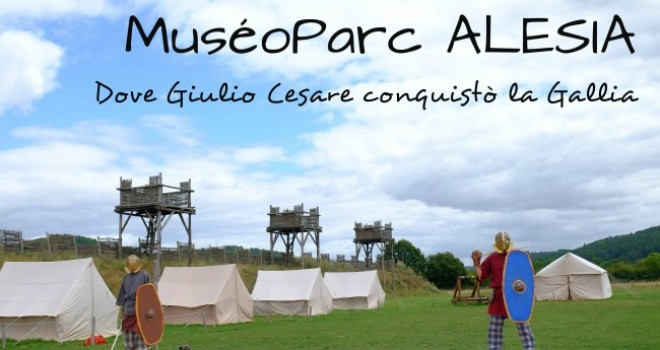 Alesia, un parco dove Giulio Cesare conquistò la Gallia
