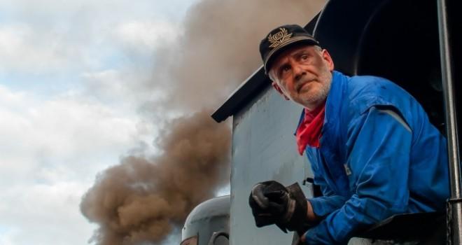 A bordo di un vero treno a vapore