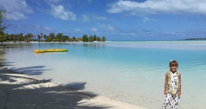 Non basta chiamarla Polinesia. Le Isole Cook con bambini