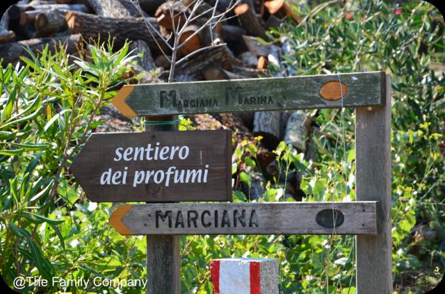 Art into the Park, Isola Elba sentiero dei profumi