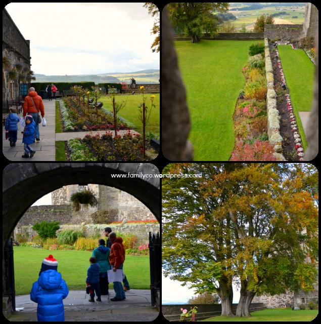 Castello di Stirling con bambini