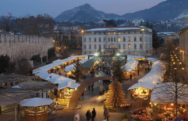 Mercatino di Natale di Trento. Photo Credits: