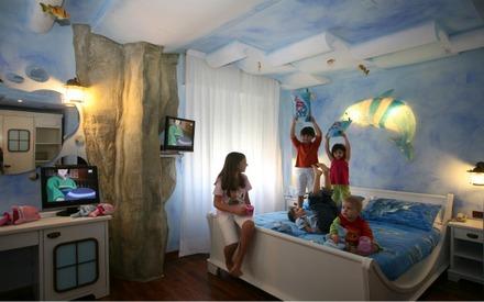 camere di hotel a tema per bambini