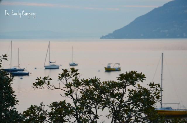 Lago Maggiore Verbania all'alba