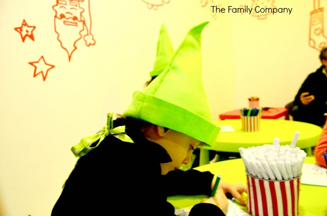 Officina degli elfi disegnando