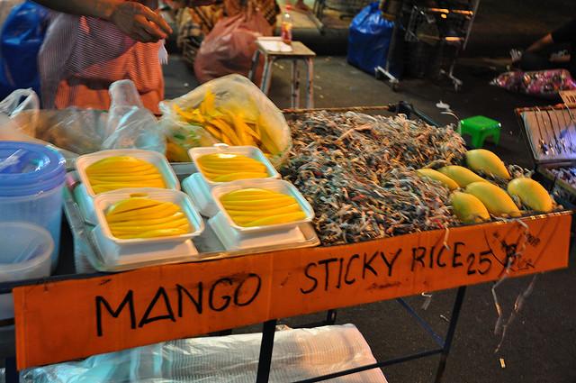Mango Sticky Rice. Credits: Eric Molina