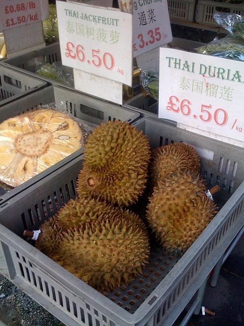 Durian. Credits: London Chow