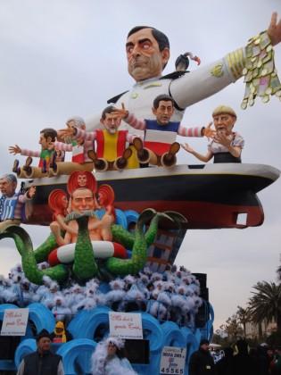 Carnevale Viareggio 2012. Credits: www.laversilia.it