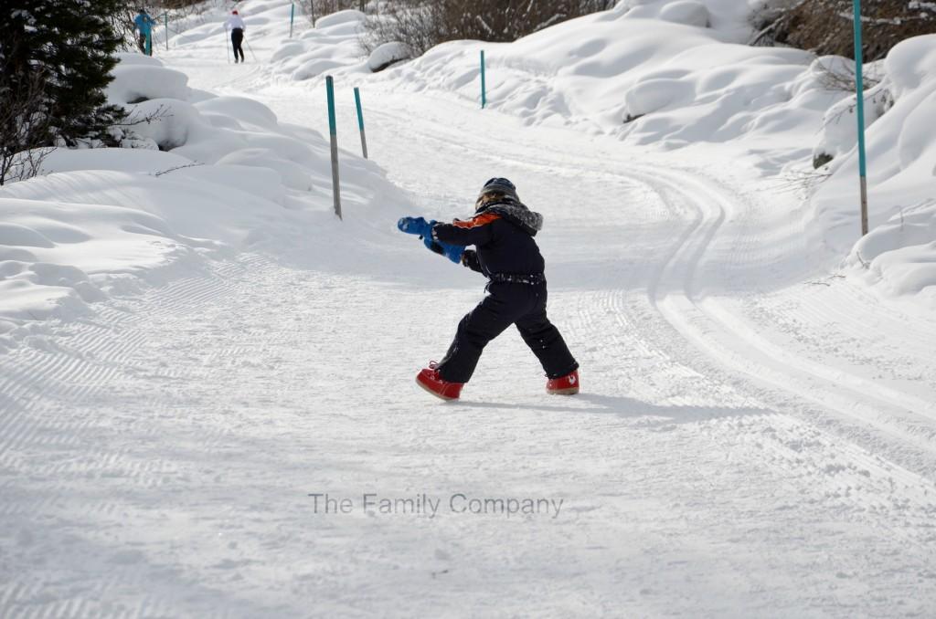giocando nella neve 2