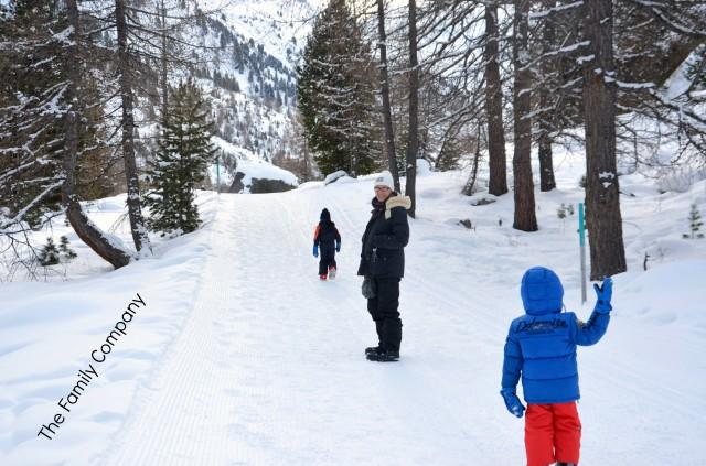 passeggiando lungo il sentiero del ghiacciaio Morteratsch 2