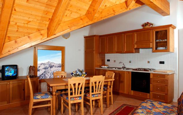 Appartamenti Hotel Gardenia Passo del Tonale. Credits: Hotel Gardenia