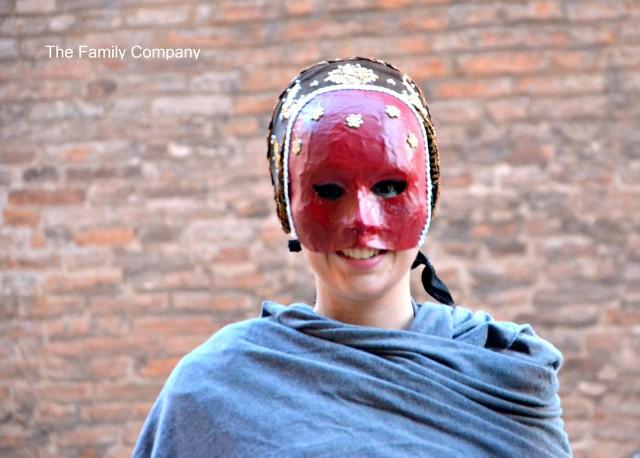 Carnevale Rinascimentale di Ferrara. Giovane nobile