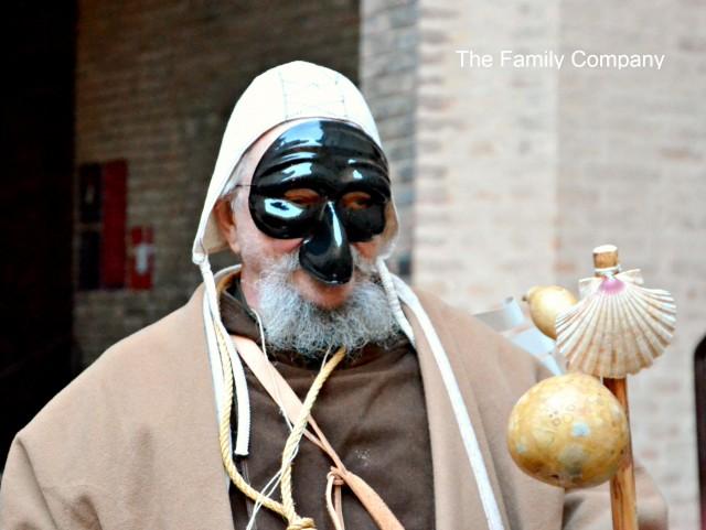 Carnevale Rinascimentale di Ferrara. Incontri nel cortile del castello....