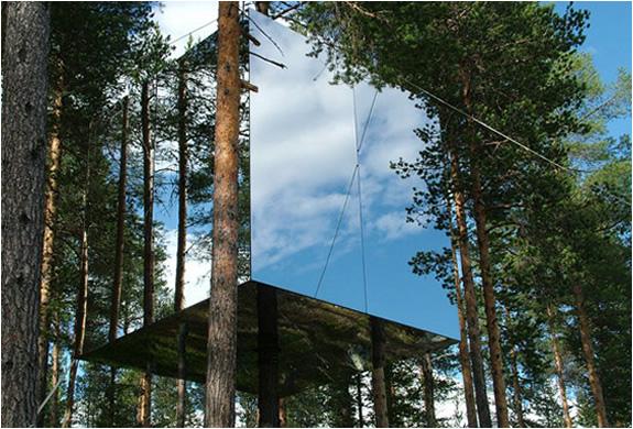 soggiornare in una casa sull'albero in Svezia