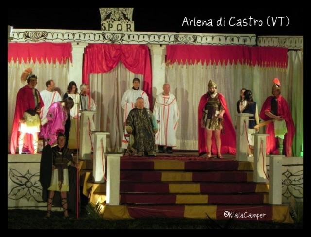 Pasqua ad Arlena di Castro. Credits: Kiala Camper