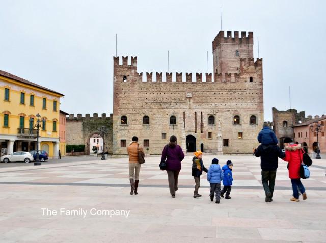 Piazza Castello Inferiore Marostica