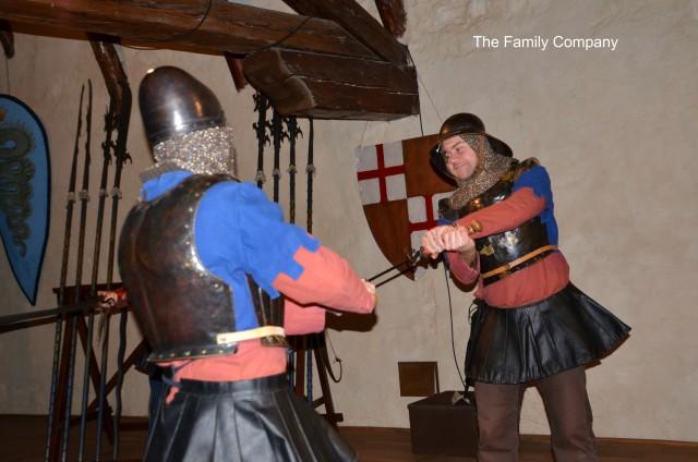 Castello Marostica Cavalieri in combattimento