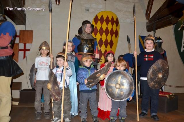 Castello Marostica piccoli cavalieri