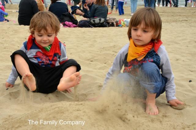 Festival Aquiloni giochi di sabbia