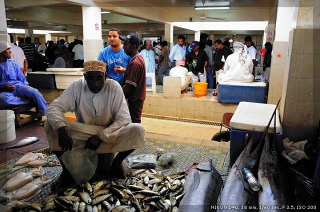 Oman - Muscat: Mercato del Pesce. Credits: Roberto Santoro