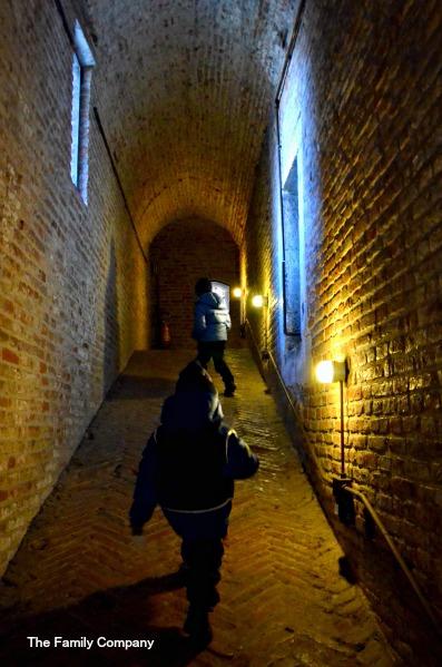 Castello Ferrara Corridoio