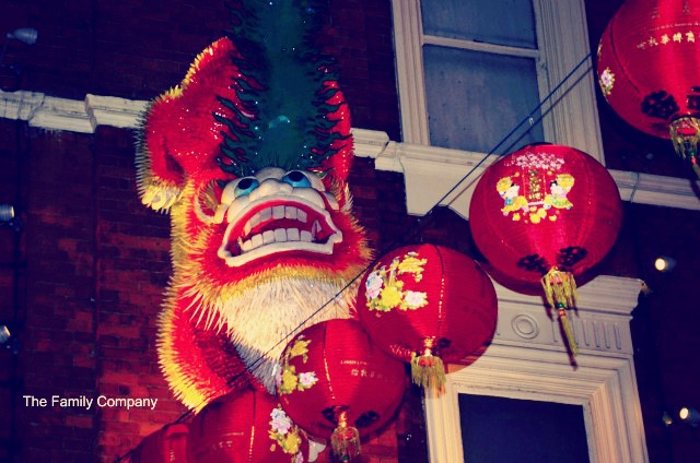 London Chinatown Dettaglio
