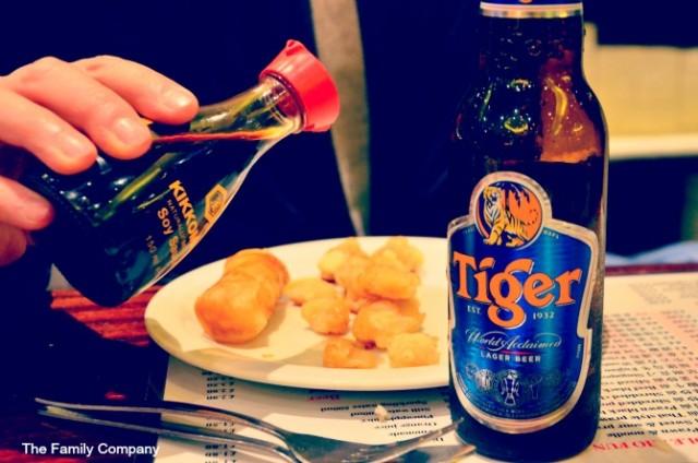 Londra mangiando cinese