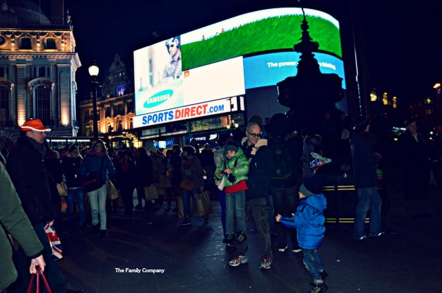 Londra Piccadilly di notte