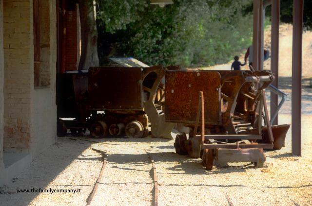 le miniere di san silvestro con bambini