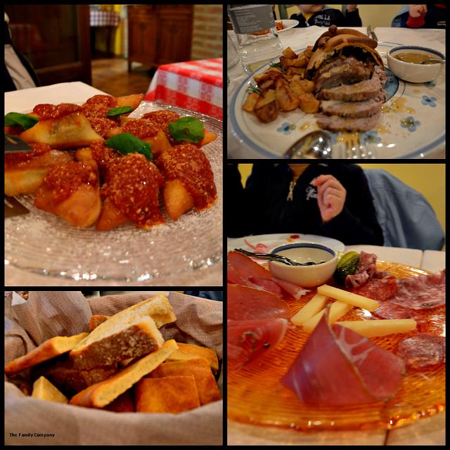 Tenuta di Seripa cena