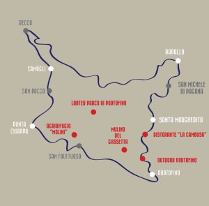 La mappa del blog tour