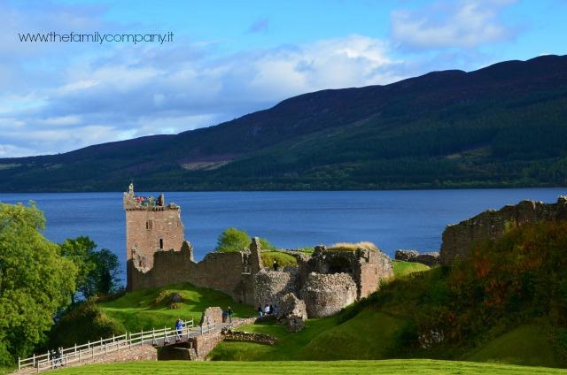 Castello di Urquarth scozia lochness