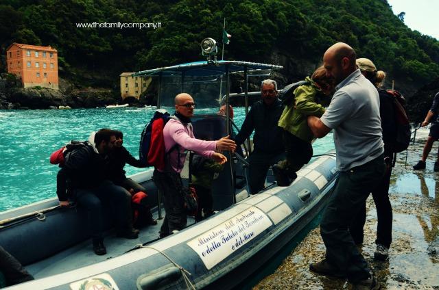Portofino via mare gommone