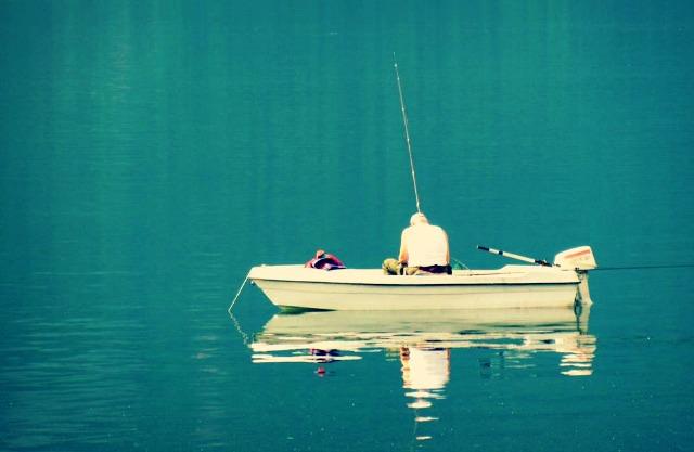 paganella aziano su barca