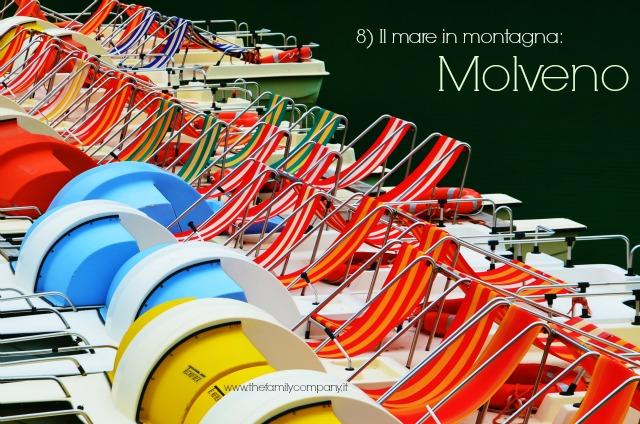 Pedalò Molveno