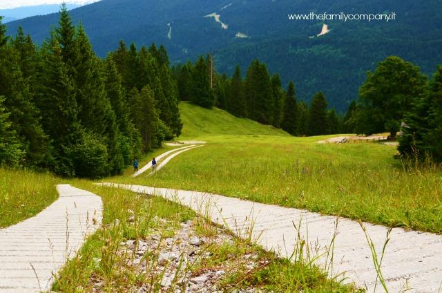 percorso trekking rifugio