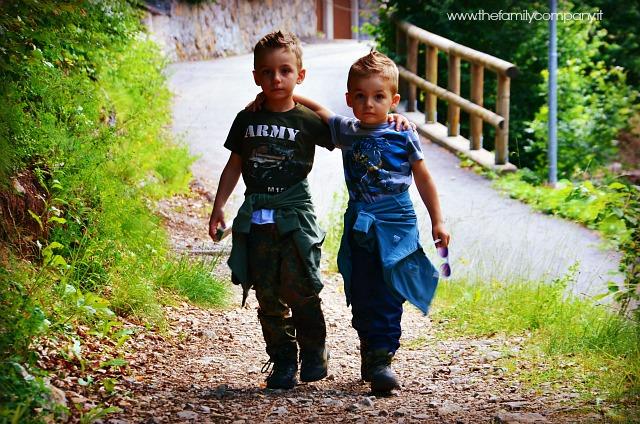 piccoli esploratori crescono paganella trekking con bambini