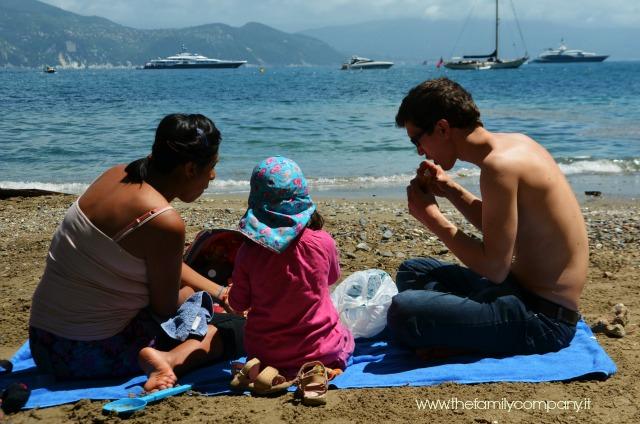 picnic in spiaggia portofino