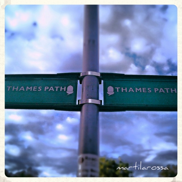 Thames Path, Reading, Berkshire