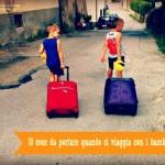 10 cose da portare quando si viaggia con i bambini
