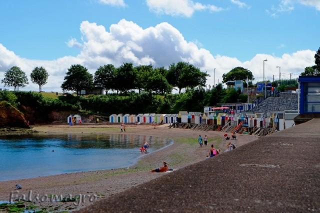 Una spiaggia di Torquay
