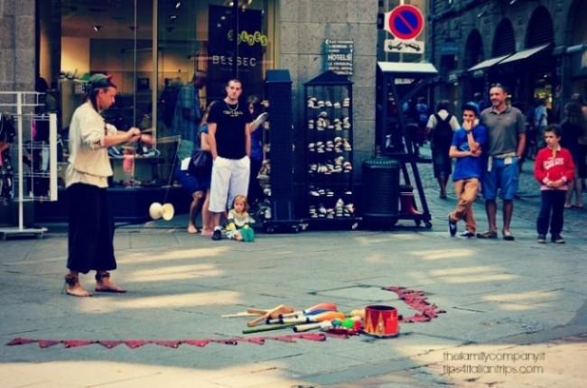 artista di strada Saint Malo