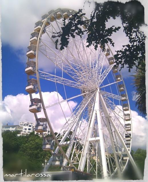 la ruota panoramica di  torquay