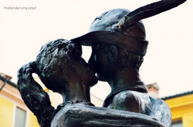 Bassano statua alpino