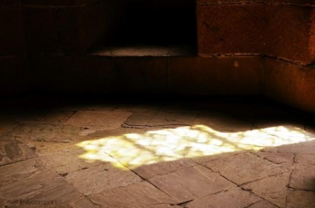 Mont Saint Michel abbazia luci