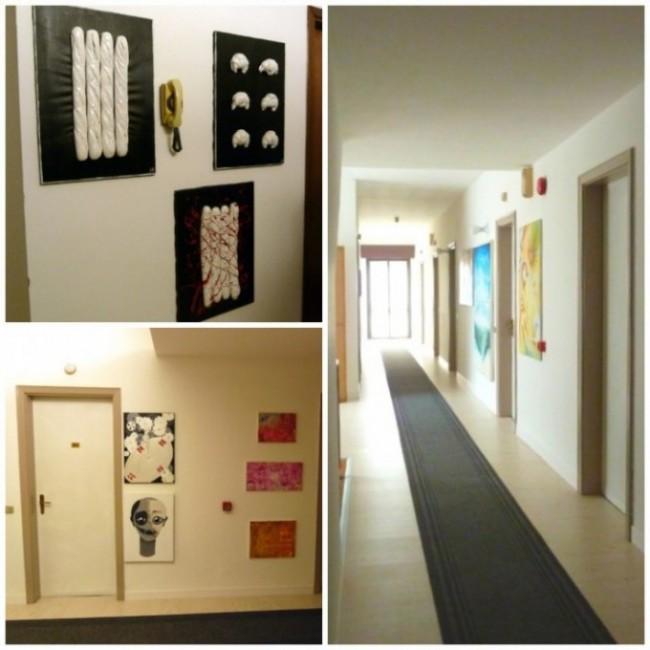 Arte nei corridoi @Hotel Giardino