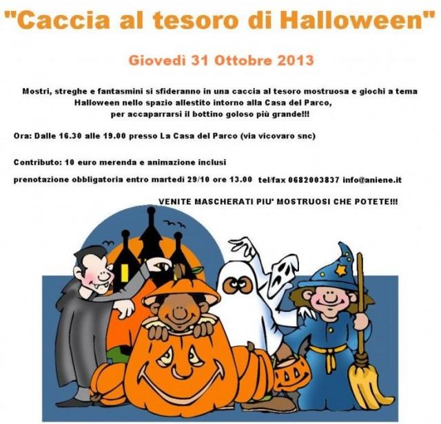 halloween con bambini roma