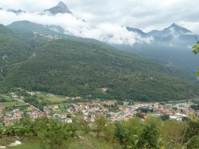 Una vista della Valle