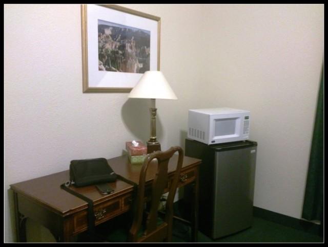 Hotel USA Frigo e microonde